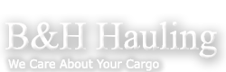 B&H Hauling Business Logo
