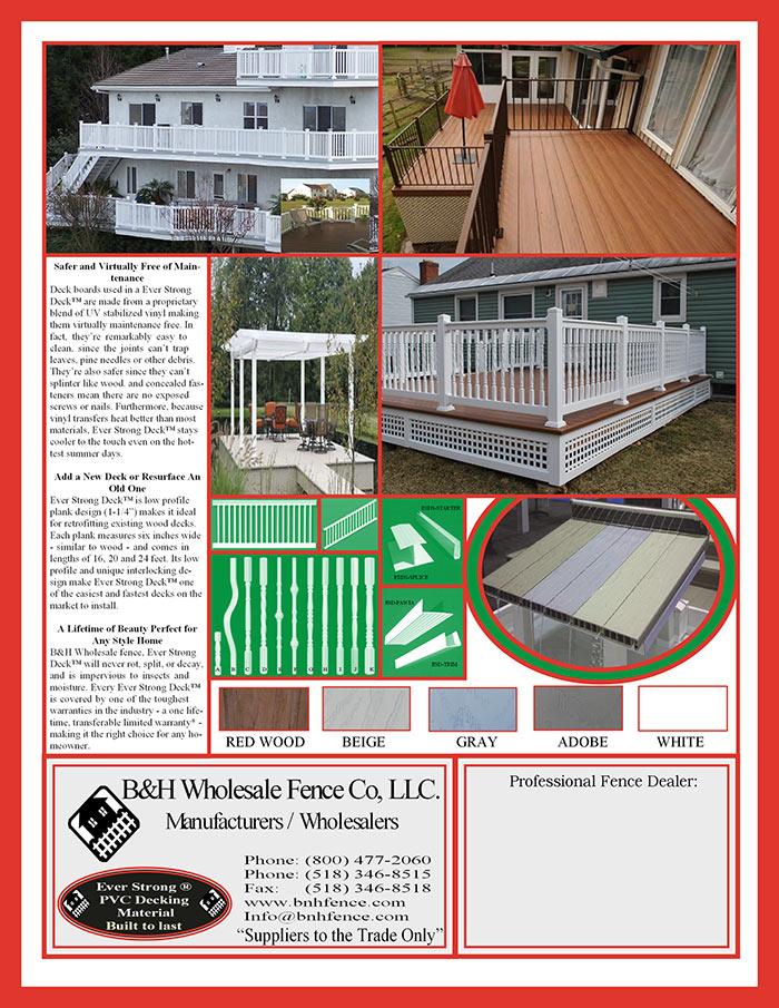Vinyl Deck Brochure Page 2