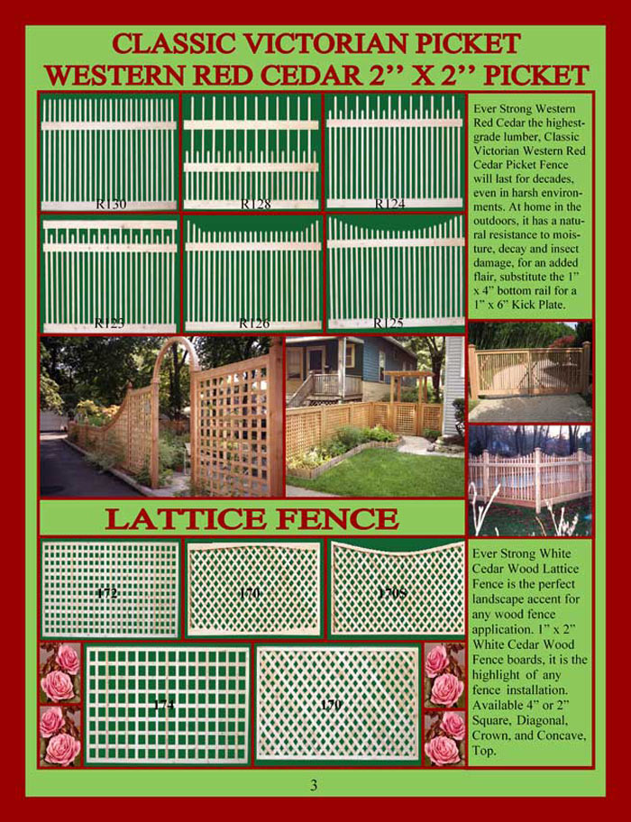 Cedar Fencing Brochure Page 3