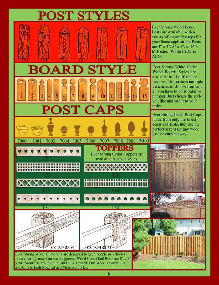 Cedar Fencing Brochure Page 6