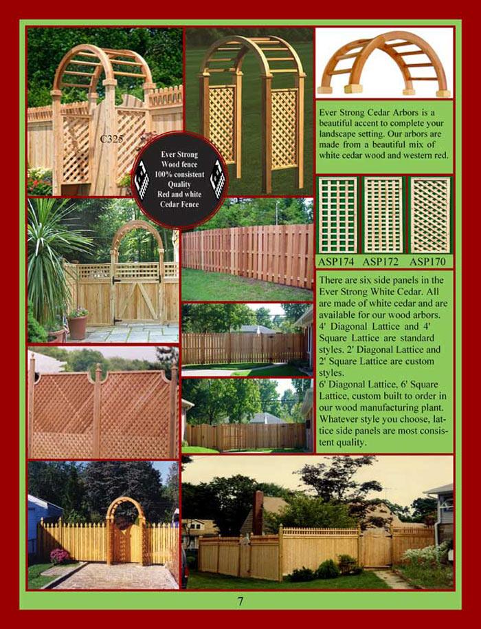 Cedar Fencing Brochure Page 7