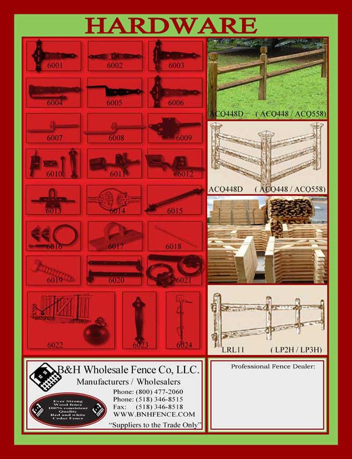 Cedar Fencing Brochure Page 8