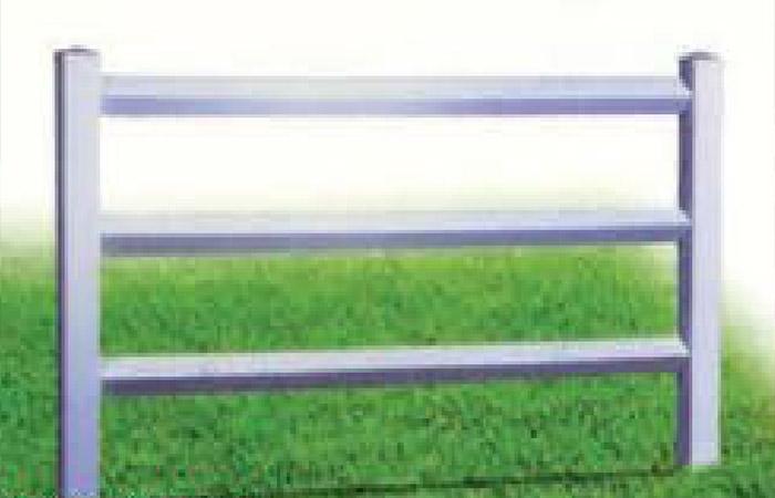 Vinyl Post & Rail 3-Rail