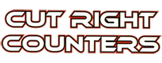 Cut Right Counters Logo