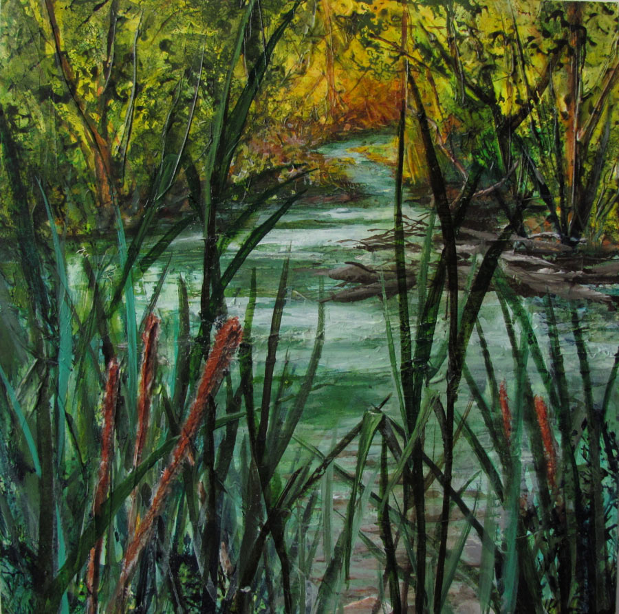 SOLD-Buckingham Pond, Early Fall