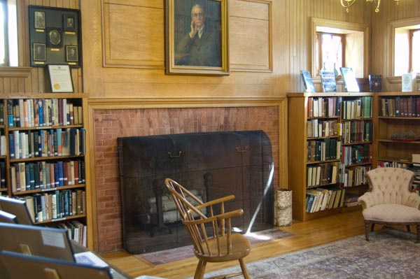 The Great Room in Hillview Free Library