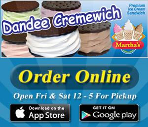 Marthas Cremewich Online Order