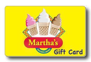 Martha's Gift Card