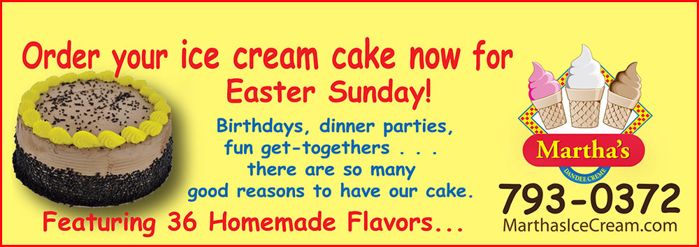 Order Your Ice Cream Cake For Easter Now