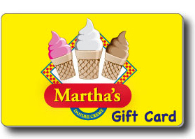 Martha's Gift Cards