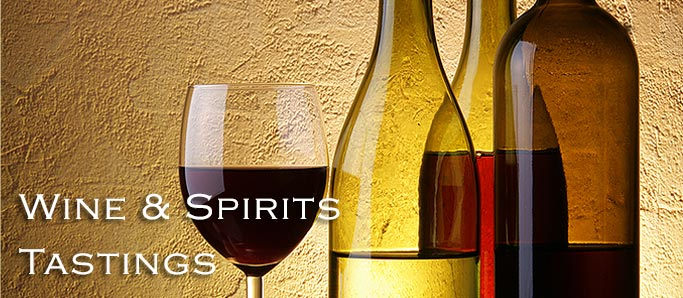 Wine & Spirits Tastings