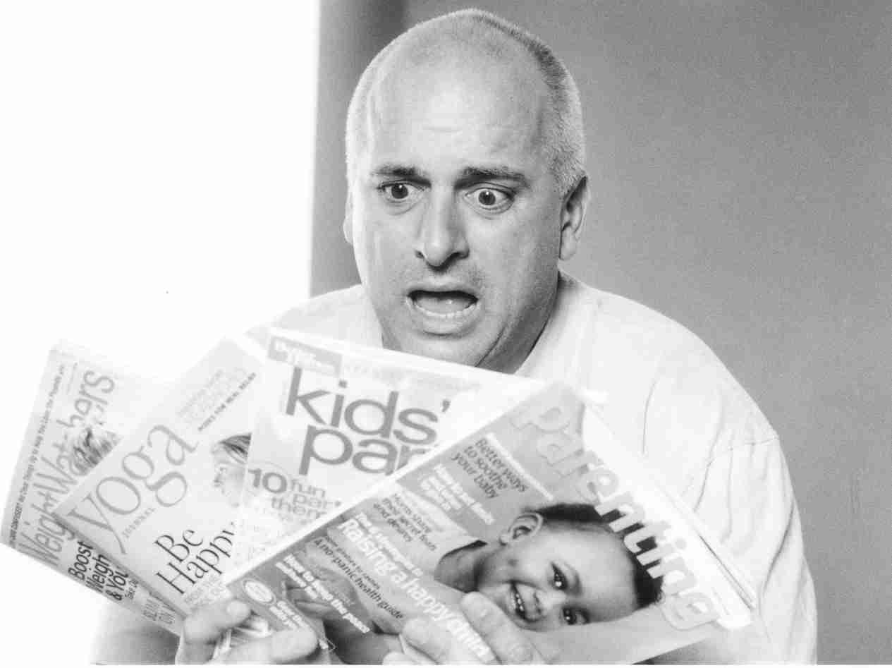 Comedian Bob Luparello