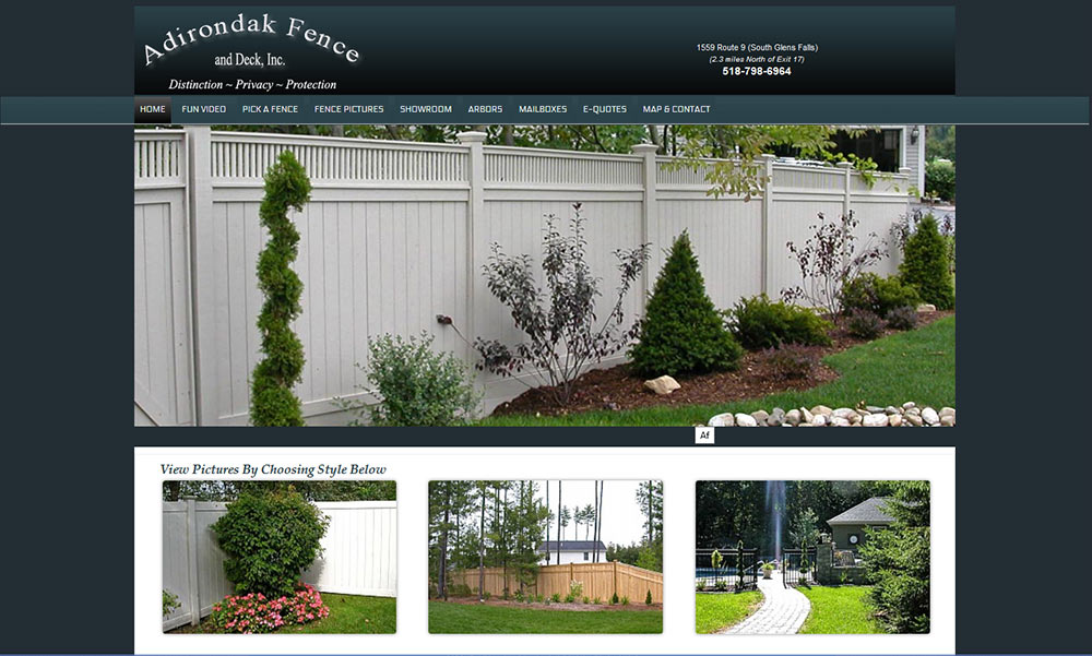 Adirondak Fence
