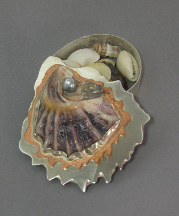 Gifts From The Sea - Oyster Shell Box - View One