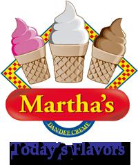 Martha's Dandee Creme Flavors