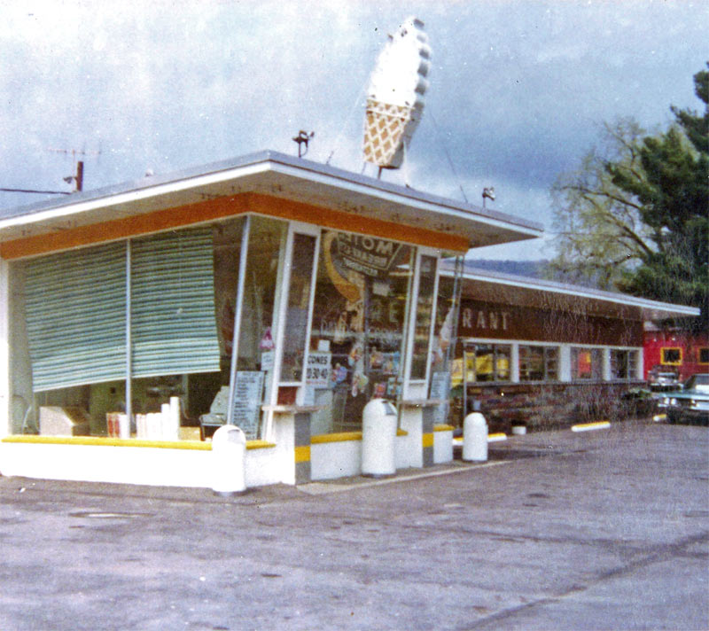 Old Ice Cream Stand