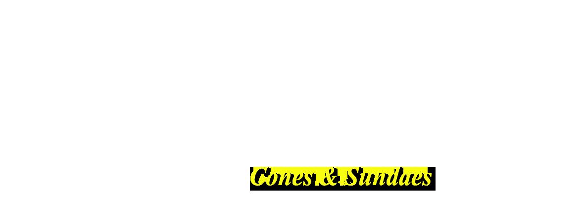 Cones & Sundaes