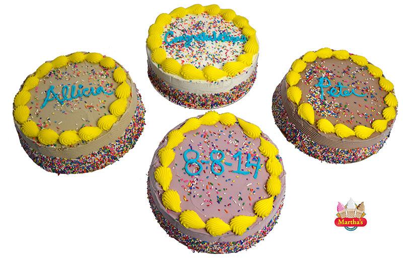Design Your Own Ice Cream Cake : Cakes