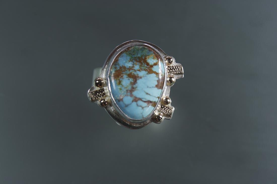 R-9835-Curtland Mine AZ Turquoise