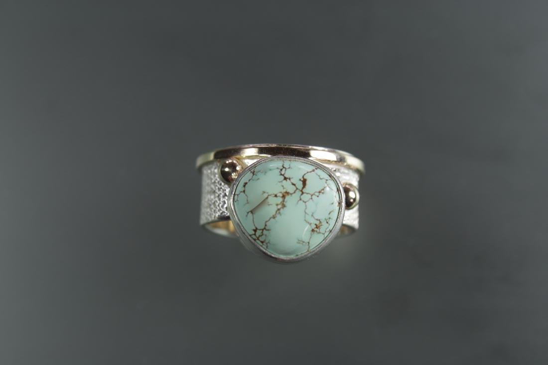 R-9838 Mine #8 Turquoise