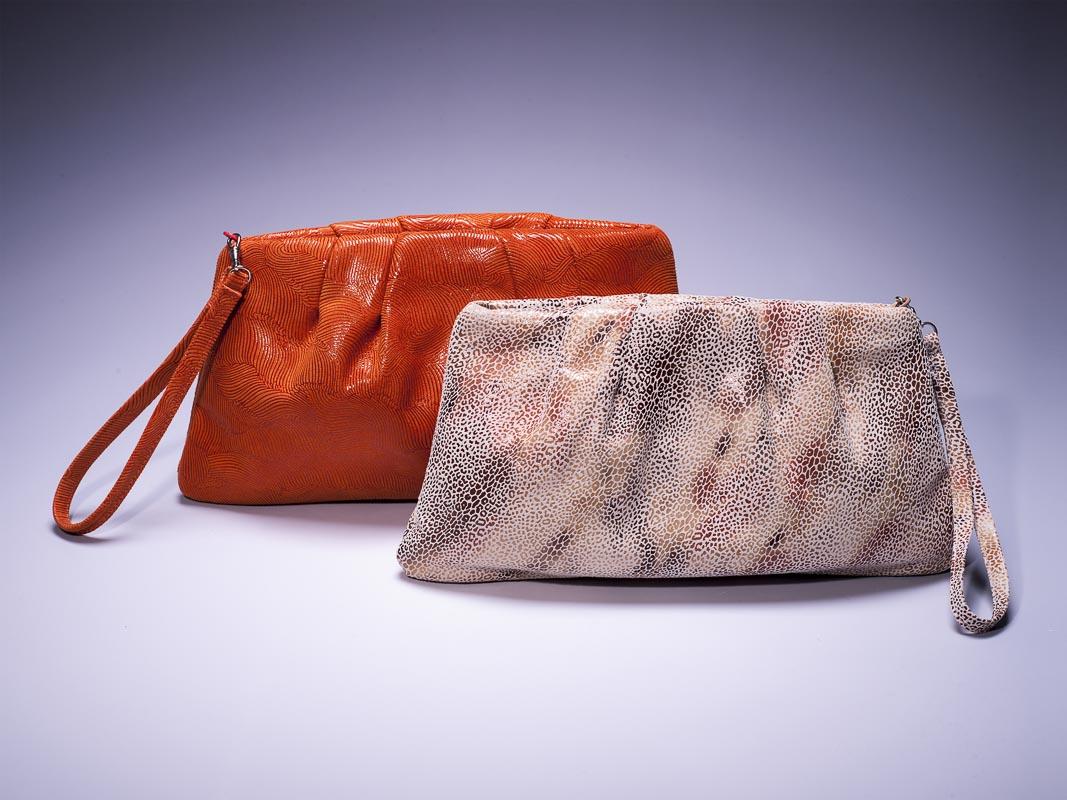 Kayla Orange Handbag