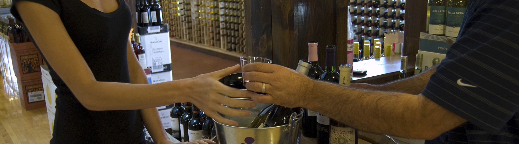 Wine Tastings at Monty's Discount Wine & Liquor